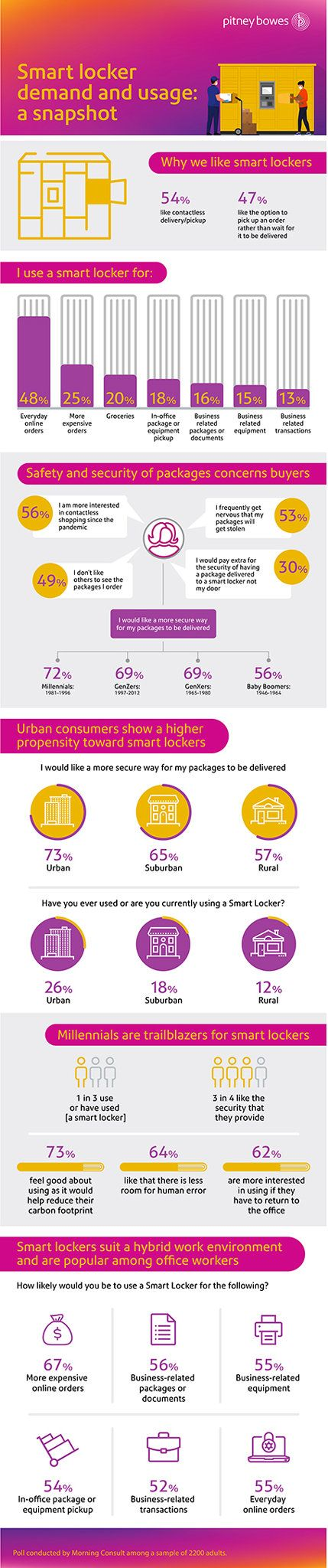 Workplace Staff Amongst These Most More likely to Favor Sensible Lockers to Get Packages Securely