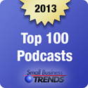 2013 Top 100 Podcast Badges