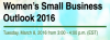 Webinar: Women's Small Business Outlook 2016